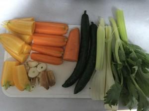 自作野菜ジュースレシピ