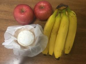 リンゴバナナチーズ